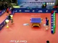 funny table tennis