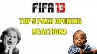 FIFA 13 - Top 5 Pack Opening Reactions
