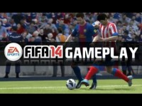 First FIFA 14 Gameplay on XBOX ONE - Barcelona vs Atlético Madrid!