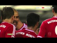 Pep Guardiola slaps Thiago Alcantara (Germany Supercup 2013)