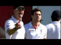 JAMES ANDERSON v MITCHELL JOHNSON : Cricket Sledging *uncensored*