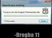 Liverpool - Waiting to win the EPL