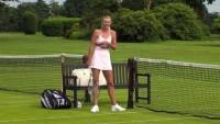 Djokovic vs. Sharapova: Behind the Scenes