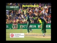 *WTF?* MOST RETARDED CRICKET SHOT OF ALL TIME - BEHIND THE STUMPS!
