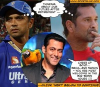 Tendulkar and Dravid in Big-Boss with Salman