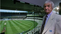 Richie Benaud injured in car accident  -- GetwellSoon