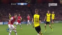 Arsenal vs Borussia Dortmund 1-2 - Goals & Highlights | UEFA Champions League | 22.10.2013
