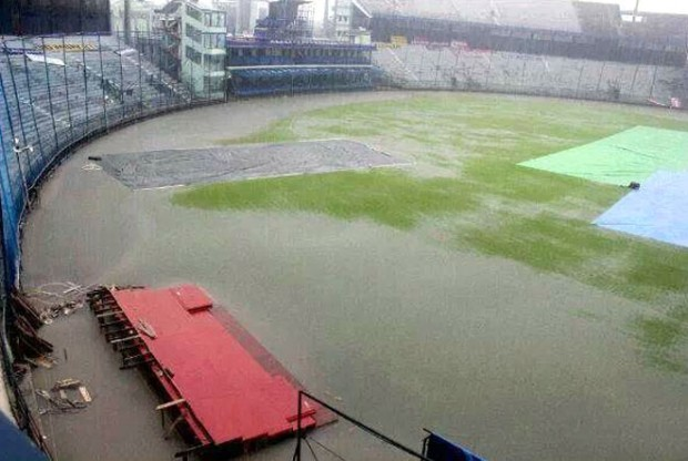Fifth ODI called off due to rain