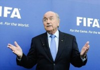 FIFA president - Blatter apologises to Ronaldo & Madrid