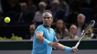 Rafael Nadal battles past Marcel Granollers at Paris Masters