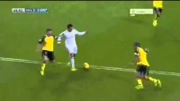 Gareth Bale dive for penalty | Real Madrid vs Sevilla 30/10/2013