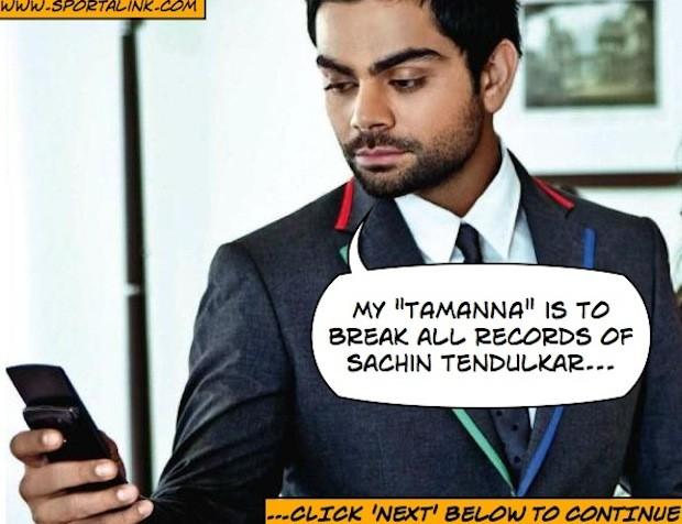 Virat Kohli Makes A Phone Call To Tamanna
