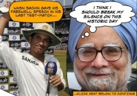 Manmohan Singh breaks his silence after Sachin's farewell speech