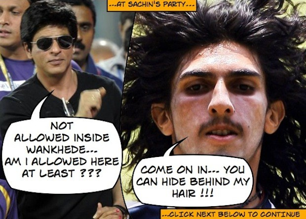 LOL FUNNY Gossip at Sachin's Farewell Party