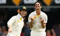 Day 2 at The Gabba : Johnson triggers dramatic England collapse
