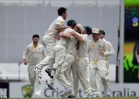 Day 4 at The Gabba : Mitchell Johnson blows England away to draw first blood