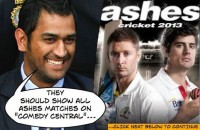 Ashes Matches on Comedy Central