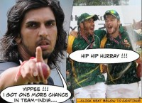 Celebrations in South Africa for Ishant Sharma