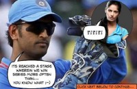 "Team India does ""it"" better than... Poonam Pandey :P"