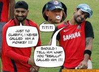 Virat Kohli SHARES what Bhajji REALLY said to Symonds
