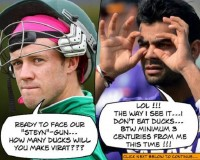 VIRAT KOHLI and AB De Villiers in War of Words