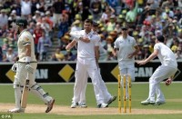 Day 1 at The Adelaide Oval :  Order restored as England dominates stuttering Australia