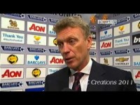 David Moyes Post Match Interview Manchester United 0-1 Everton