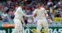 Day 2 at The Adelaide Oval :  Clarke and Haddin centuries leave England in a hole