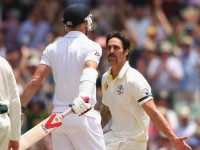 Day 3 at The Adelaide Oval :  Deja Vu as lethal Johnson rips into England