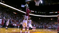 LeBron James Absolutely Posterizes Paul Millsap!!