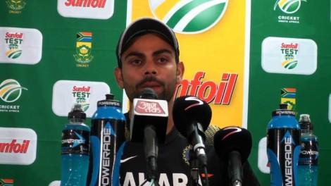 India vs SA 1st Test Virat Kohli talks about scoring 100