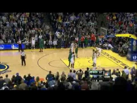 Stephen Curry's game winner vs Boston (01.10.2014)