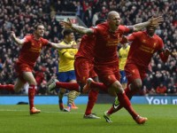 It took only 20 minutes for Liverpool to demolish the Gunners at Anfield.
