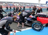 Worries for Red Bull with Force India going fastest in Bahrain