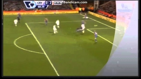 Wayne Rooney Fantastic Goal vs Crystal Palace ~ Justifies his newly signed 5 yr contract