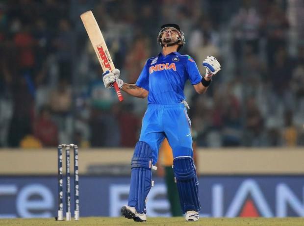 Kohli's Brilliance drives India to the final
