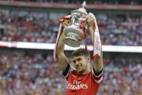 RAMSEY WOULD LOVE TO STAY AND PLAY FOR ARSENAL