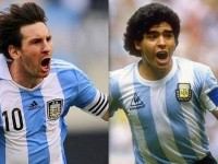 ARGENTINA: CAN MESSI BE THE NEXT MARADONA ?