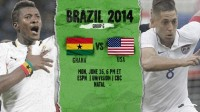 USA VS GHANA: IT'S A DO OR DIE FOR BOTH BOTH TEAMS