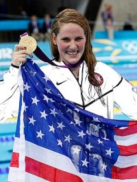 "Missy Franklin: Ready to take over from Michael Phelps as the ""Next Great Superstar of the swimming pool"""