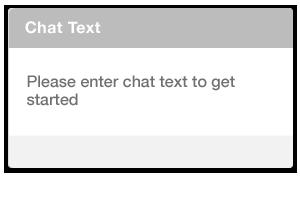 Add a chat